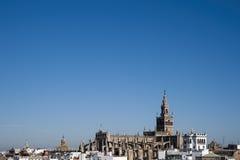 Zabytki Seville, los angeles Giralda Fotografia Stock