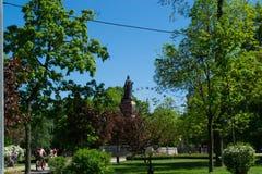 Zabytki w miasto parku zdjęcia royalty free
