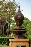 Zabytki w parku blisko Uroczystego pałac, Bangkok, Tajlandia Obrazy Royalty Free
