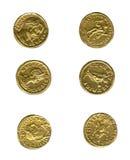 zabytkowe monety obraz royalty free