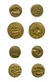 zabytkowe monety Obrazy Royalty Free