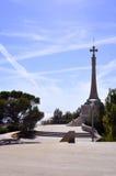 Zabytku krzyż w Santa Ponca Obraz Royalty Free