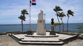 Zabytku Kwadratowy Patriotyczny prezydent Juan Bosch, Zdjęcie Stock