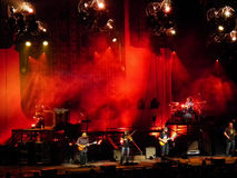 Zac Brown Band Perform Live Onstage Stock Images