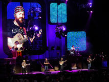 Zac Brown Band Perform Onstage Stock Image