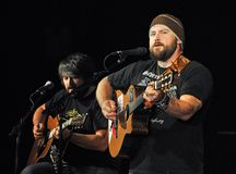 Zac Brown, bande de Zac Brown Images stock