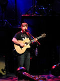 Zac Brown sings on stage in Charlotte Royalty Free Stock Photo