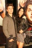 Zac Efron en Vanessa Hudgens #2 Stock Fotografie