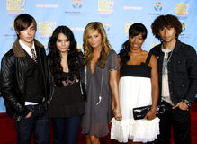 Zac Efron, Vanessa Anne Hudgens, Ashley Tisdale, Monique Coleman i Corbin Bleu, Fotografia Stock