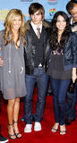 Zac Efron, Vanessa Hudgens και Ashley Tisdale Στοκ φωτογραφίες με δικαίωμα ελεύθερης χρήσης