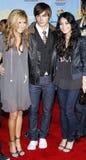 Zac Efron, Vanessa Hudgens και Ashley Tisdale Στοκ εικόνα με δικαίωμα ελεύθερης χρήσης