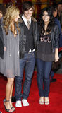 Zac Efron, Vanessa Hudgens i Ashley Tisdale, Obraz Stock