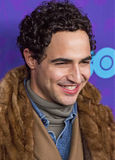 "Zac Posen. Designer Zac Posen arrives on the red carpet for the New York premiere of the third season of the hit HBO cable comedy ""Girls,"" at Jazz at royalty free stock photography"