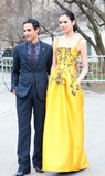 Zac Posen and Tao Okamoto Royalty Free Stock Photos