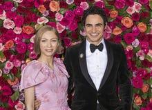 Zac Posen a Tony Awards 2018 Immagine Stock