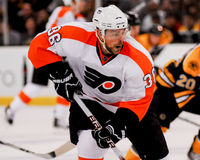 Zac Rinaldo, Philadelphia Flyers Stockbild