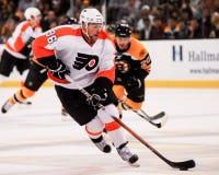 Zac Rinaldo Philadelphia Flyers framåtriktat Arkivbild