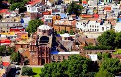 Zacatecas aerial III. Aerial view of zacatecas city, mexico Stock Image