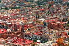 Zacatecas Antenne Lizenzfreies Stockfoto