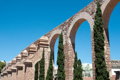 Zacatecas Aqueduct, Mexico Stock Photography