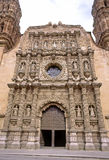 Zacatecas cathedral. Master piece of mexican baroque stock photo
