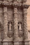 Zacatecas cathedral facade Stock Image