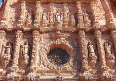 Zacatecas cathedral VII Royalty Free Stock Image