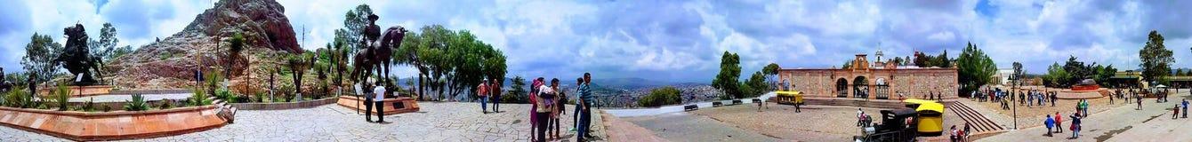 Zacatecas-cerro de la bufa Royalty Free Stock Photos