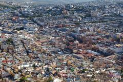 Zacatecas Oude Stad in Mexico royalty-vrije stock fotografie
