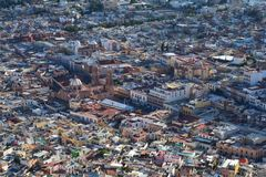 Zacatecas Oude Stad in Mexico stock afbeeldingen