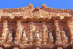 Zacatecaskathedraal IX Stock Afbeelding
