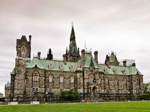 Zachód kanadyjski Blok Fotografia Royalty Free