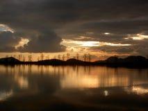 - zachód słońca Obrazy Stock