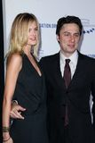 Zach Braff. Taylor Bagley, Zach Braff  at the Clinton Foundation Gala in Honor of A Decade of Difference,  Palladium, Hollywood, CA 10-14-11 Royalty Free Stock Photos