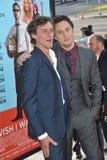 Zach Braff y Adán J Braff Foto de archivo