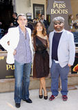Zach Galifianakis, Antonio Banderas και Salma Hayek Στοκ Εικόνα