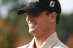 Zach Johnson, Tour Championship, Atlanta, 2006 Royalty Free Stock Image
