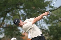 Zach Johnson, Tour Championship, Atlanta, 2006 Royalty Free Stock Images