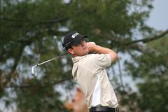 Zach Johnson, Tour Championship, Atlanta, 2006 Stock Photography