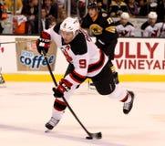 Zach Parise New Jersey Devils stock images