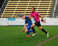 Zach Prince, Midfielder, Charleston Battery. Charleston Battery midfielder Zach Prince #24 Royalty Free Stock Photo