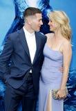 Zach Shields e Kelli Garner imagem de stock royalty free