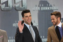 ZACHARY QUINTO, CHRIS PINE Stock Photo