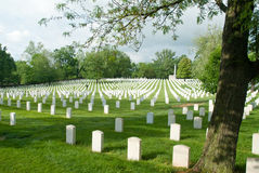 Zachary Taylor National Cemetery in Louisville, KY Royalty Free Stock Image