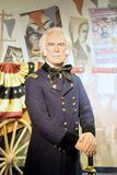Zachary Taylor Wax Figure. Zachary Taylor was the 12th President of the United States, serving from March 1849 until his death in July 1850. Zachary Taylor wax Stock Image