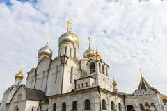 Zachatievskiy monaster ceremonia ślub kościelny obrządku Zdjęcie Royalty Free