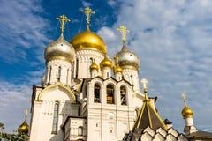 Zachatievskiy monaster ceremonia ślub kościelny obrządku Zdjęcia Stock