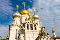 Zachatievskiy Monastery. The Church. Russia. Moscow. Orthodox Monastery. The Church inside the Zachatievskiy Monastery. Summer. 2014 Royalty Free Stock Photography