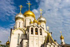 Zachatievskiy Monastery. The Church. Russia. Moscow. Orthodox Monastery. The Church inside the Zachatievskiy Monastery. Summer. 2014 Stock Photos
