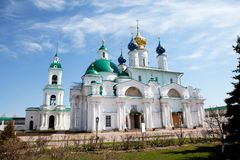 Zachatievsky Cathedral. Rostov. Stock Photos
